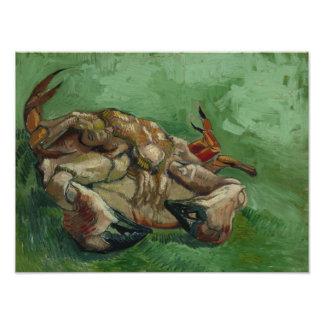 Vincent van Gogh - A Crab on its Back Photo