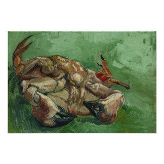 Vincent van Gogh - A Crab on its Back Photographic Print