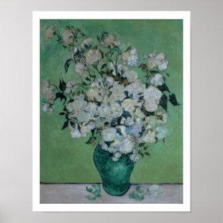 Vincent van Gogh | A Vase of Roses, 1890 Poster