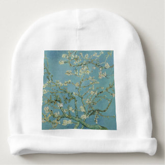 Vincent Van Gogh Almond Blossom Floral Painting Baby Beanie