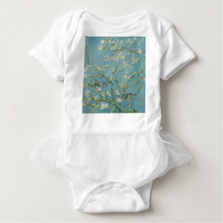 Vincent Van Gogh Almond Blossom Floral Painting Baby Bodysuit