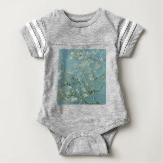 Vincent Van Gogh Almond Blossom Floral Painting Baby Bodysuit