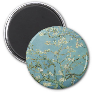 Vincent Van Gogh Almond Blossom Floral Painting Magnet