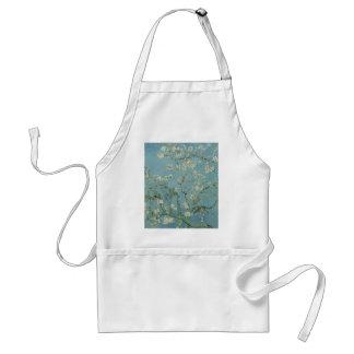 Vincent Van Gogh Almond Blossom Floral Painting Standard Apron