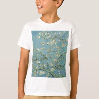 Vincent Van Gogh Almond Blossom Floral Painting T-Shirt