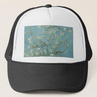 Vincent Van Gogh Almond Blossom Floral Painting Trucker Hat
