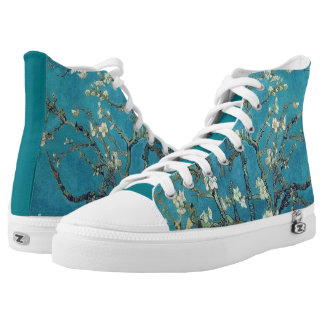 Vincent Van Gogh Almond Blossoms Printed Shoes