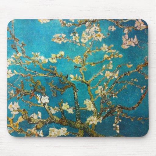 Vincent van Gogh Almond Tree Art Mouse Pads