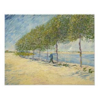 Vincent van Gogh - Along the Seine Photo