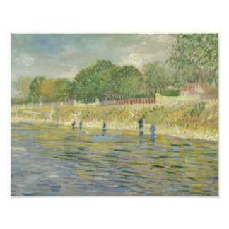 Vincent van Gogh - Bank of the Seine Photograph