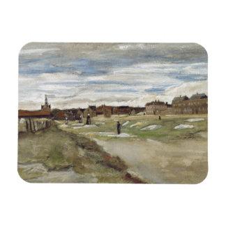 Vincent van Gogh - Bleaching Ground Rectangular Photo Magnet