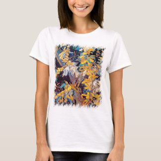 Vincent Van Gogh - Blossoming Acacia Branches T-Shirt