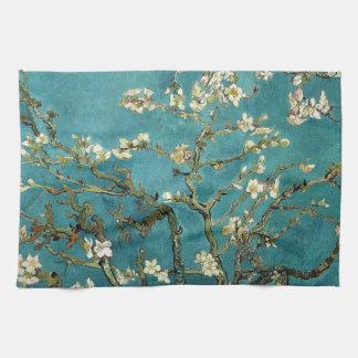 Vincent Van Gogh - Blossoming Almond Tree Blossoms Tea Towel