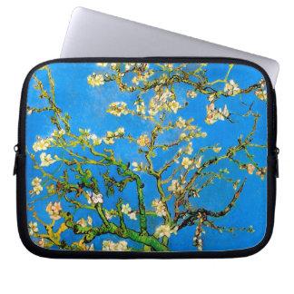 Vincent Van Gogh - Blossoming Almond Tree Fine Art Laptop Sleeve