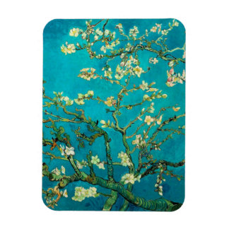 Vincent Van Gogh Blossoming Almond Tree Rectangular Photo Magnet