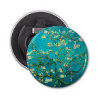 Vincent Van Gogh Blossoming Almond Tree Floral Art Bottle Opener