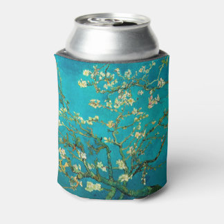 Vincent Van Gogh Blossoming Almond Tree Floral Art Can Cooler