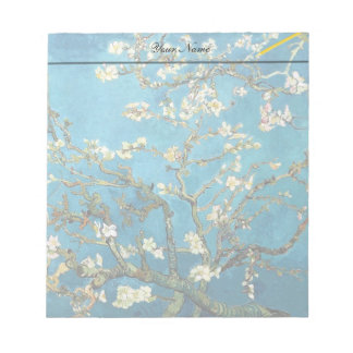 Vincent van Gogh Blossoming Almond Tree Scratch Pad