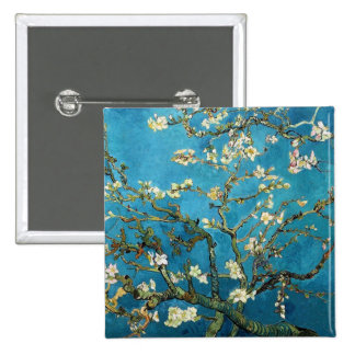 Vincent van Gogh Blossoming Almond Tree Pin