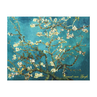 Vincent van Gogh, Blossoming Almond Tree Stretched Canvas Print