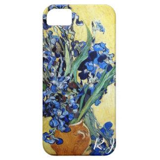 Vincent van Gogh, blue irises iPhone 5 Cover
