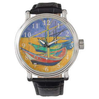 Vincent Van Gogh Boats Impressionist Watch