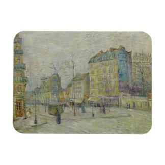 Vincent van Gogh - Boulevard de Clichy Rectangular Photo Magnet