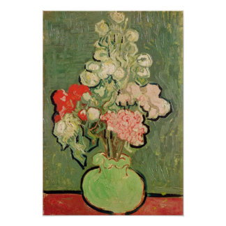 Vincent van Gogh | Bouquet of flowers, 1890 Poster