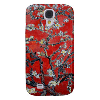 Vincent van Gogh Branches with Almond Blossom Galaxy S4 Covers