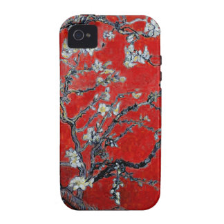 Vincent van Gogh Branches with Almond Blossom Vibe iPhone 4 Cases