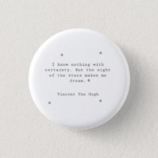 Vincent Van Gogh Button