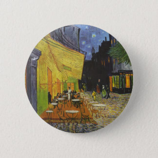 Vincent Van Gogh - Cafe Terrace at Night 6 Cm Round Badge