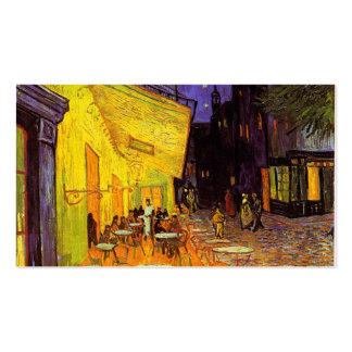 Vincent Van Gogh Cafe Terrace At Night Fine Art Pack Of Standard Business Cards