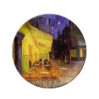 Vincent Van Gogh Cafe Terrace At Night Fine Art Plate