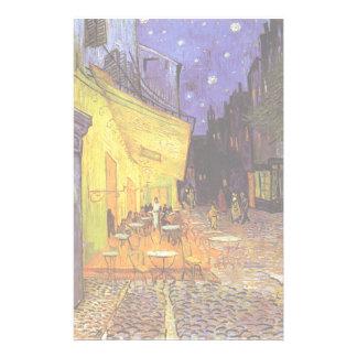 Vincent Van Gogh Cafe Terrace At Night Fine Art Stationery Design