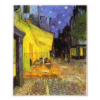 Vincent Van Gogh Cafe Terrace At Night Vintage Art Photo Print