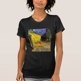 Vincent Van Gogh Cafe Terrace At Night Vintage Art T-Shirt