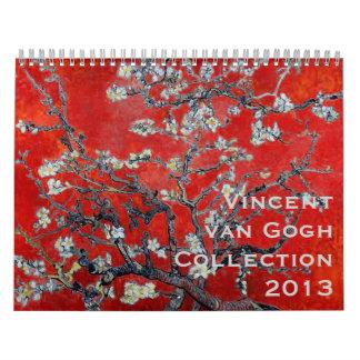 Vincent van Gogh Collection 2013 Calendar