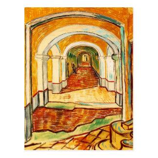 Vincent van Gogh Corridor in the Assylum Postcard
