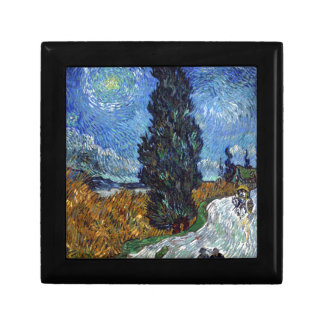 Vincent Van Gogh Country road in Provence by Night Gift Box
