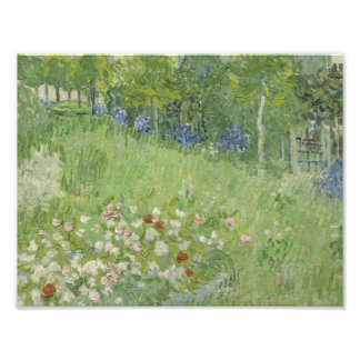 Vincent van Gogh - Daubigny's Garden Photograph