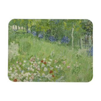 Vincent van Gogh - Daubigny's Garden Rectangular Photo Magnet