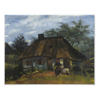 Vincent van Gogh - Farmhouse in Nuenen Photo