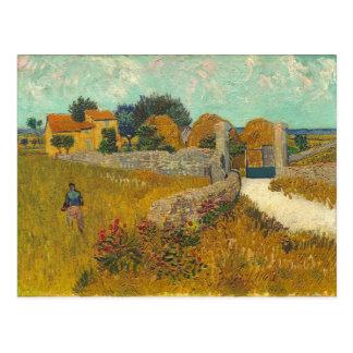 Vincent van Gogh | Farmhouse in Provence, 1888 Postcard
