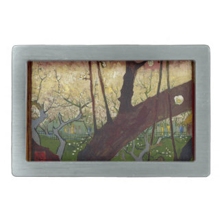 Vincent Van Gogh Flowering Plum Tree Art work Belt Buckles