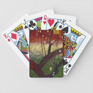Vincent Van Gogh Flowering Plum Tree Art work Poker Deck