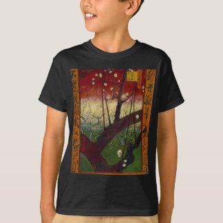 Vincent Van Gogh Flowering Plum Tree Art work T-Shirt