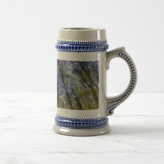 Vincent Van Gogh Forest Art Beer Stein