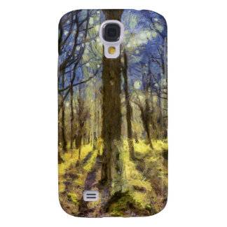 Vincent Van Gogh Forest Art Samsung Galaxy S4 Cover
