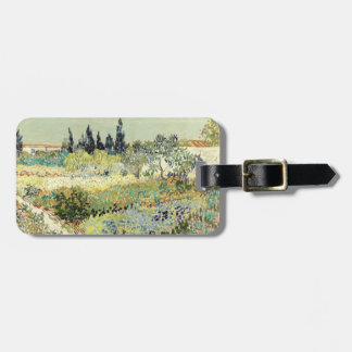 Vincent Van Gogh Garden at Arles Luggage Tag